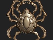 Krablor the Crab (Pendant) in Stainless Steel
