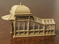 N Scale (1:160) Subway Kiosks (Set of 2) in Frosted Ultra Detail