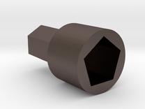 Porlex Coffee Grinder Adapter in Stainless Steel