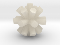 FUD Fit Tolerance Asterisk-test in White Acrylic
