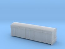 LMS 6wheel Covered Carriage Truck body - 4mm scale in Frosted Ultra Detail