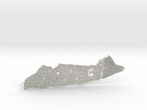 Manhattan Pendant in White Strong & Flexible