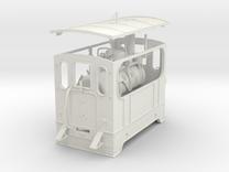 1:45 Silvolde steam tram 0e in White Strong & Flexible