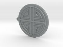Sumaksae Pendant in Polished Metallic Plastic