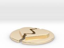 Broken Pendants B Type in 14K Gold