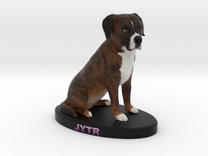 Custom Dog FIgurine - Jytr in Full Color Sandstone