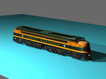 GN W-1 Heavy Electric Great Northern in Frosted Ultra Detail