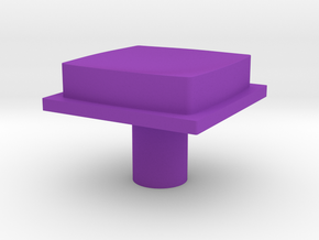 cleanbutton in Purple Strong & Flexible Polished