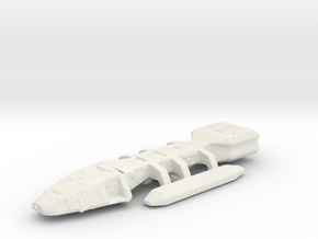 Battle-star in White Natural Versatile Plastic