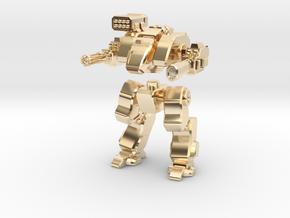 Terran Assault Walker in 14k Gold Plated Brass