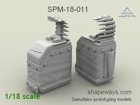1/18 SPM-18-011 LBT MK48 Box Mag (middle) in Frosted Extreme Detail