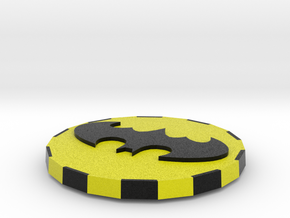 Double sided Batman Card cover in Full Color Sandstone