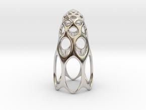 jamD Radiolarian 003 in Platinum