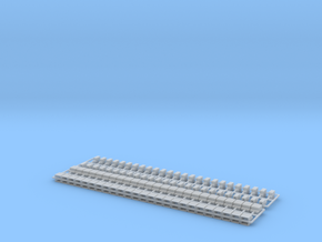 2 Set Blocks Z Scale in Smooth Fine Detail Plastic