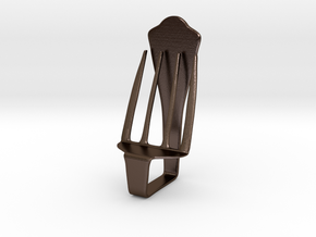 Chair No. 34 in Polished Bronze Steel