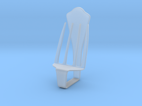 Chair No. 34 in Smooth Fine Detail Plastic