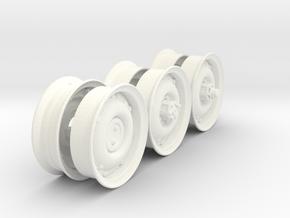 1-18 RIMS For 600x16 in White Processed Versatile Plastic