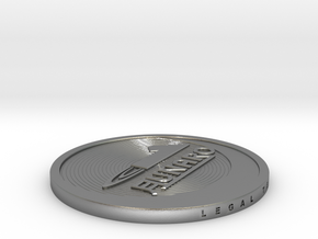 1 Lunaro coin 2015. in Natural Silver