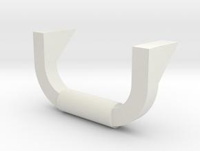 Lionel O scale EMD F3/F7 Coupler Mount (Part B) in White Natural Versatile Plastic