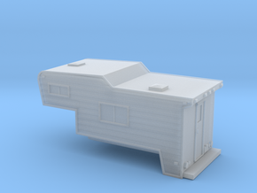 N-Scale Slide-In Camper in Frosted Extreme Detail