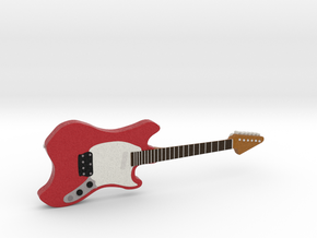 Musiclander Shape Guitar 1:18 in Full Color Sandstone