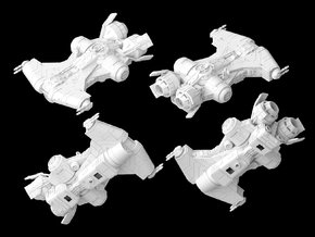 Defender Class Corvette 1/270 in White Strong & Flexible
