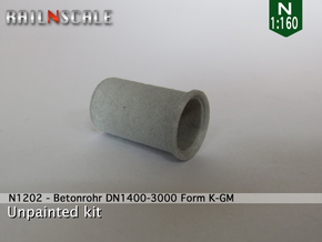 Betonrohr DN1400-3000 in White Strong & Flexible