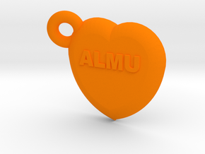 Second ligand heart ALMU in Orange Processed Versatile Plastic