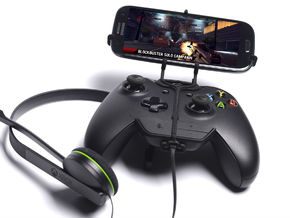 Xbox One controller & chat & Lenovo A7000 - Front  in Black Natural Versatile Plastic