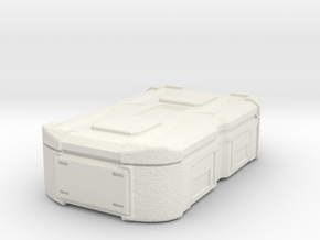 1:20 Cargobox1 in White Natural Versatile Plastic