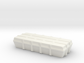 1:20 Cargo box in White Natural Versatile Plastic