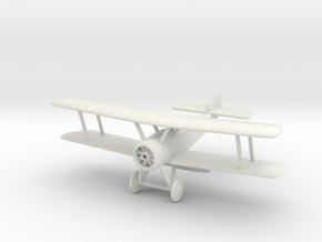 1/144 or 1/100 Sopwith Pup in White Natural Versatile Plastic: 1:144