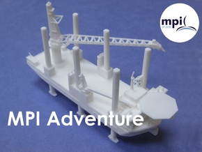 WTIV MPI Adventure (1:1200) in White Strong & Flexible