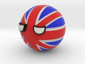 Countryballs UK in Full Color Sandstone