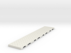 P-165st-straight-long-wedge-1a in White Natural Versatile Plastic