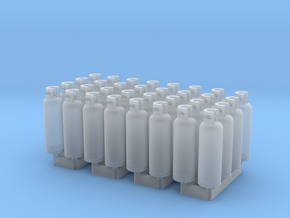 LPG Tanks 20kg, 32pc., N-scale in Frosted Ultra Detail