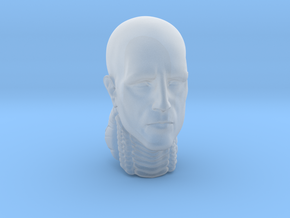 Head engineer in Smooth Fine Detail Plastic