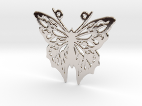 Butterfly in Platinum