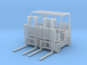 Yale Forklift (N -1:160) 2X in Smoothest Fine Detail Plastic