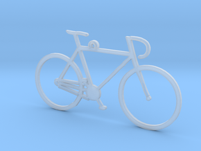 Racing Bicycle in Smooth Fine Detail Plastic
