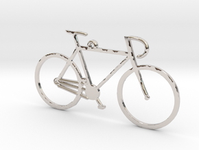 Racing Bicycle in Platinum