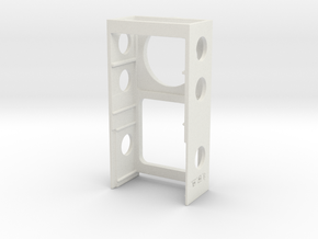 SX350 cradle that will center the display inside a in White Strong & Flexible