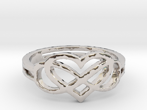 Forever Love Ring Ring Size 7 in Platinum