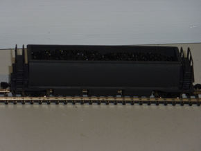 CB-3 Coal Wagon, New Zealand, (NZ120 / TT, 1:120) in White Natural Versatile Plastic
