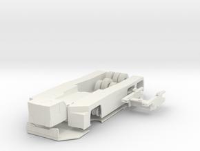 AST-1X 6X6 Version 2 1:87 in White Natural Versatile Plastic
