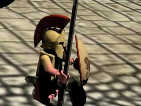 hoplite greek helmet http://www.hmb3design.com/3ds in Full Color Sandstone