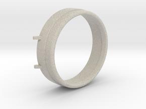 "3/4"" Scale Sunbeam Headlight Lense Cap in Natural Sandstone"