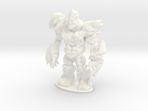 Rocky the Rock Giant in White Processed Versatile Plastic