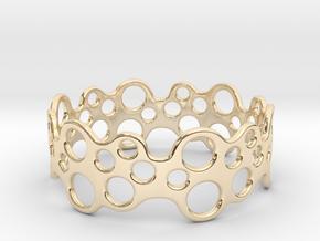 Bubbles Bracelet 70 in 14k Gold Plated Brass