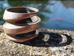 BASHIBA Spiral (16.50 mm) in Stainless Steel